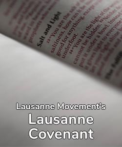 Lausanne Covenant
